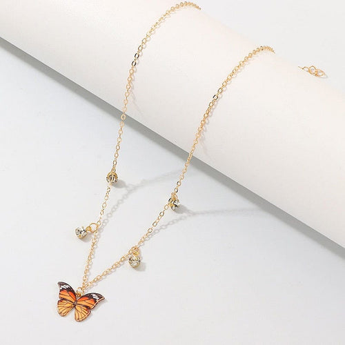 CUTE BUTTERFLY NECKLACE - DIFTAS - Do It For The Aesthetics