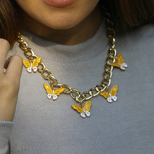 Load image into Gallery viewer, BUTTERFLY GOLD NECKLACE - DIFTAS - Do It For The Aesthetics