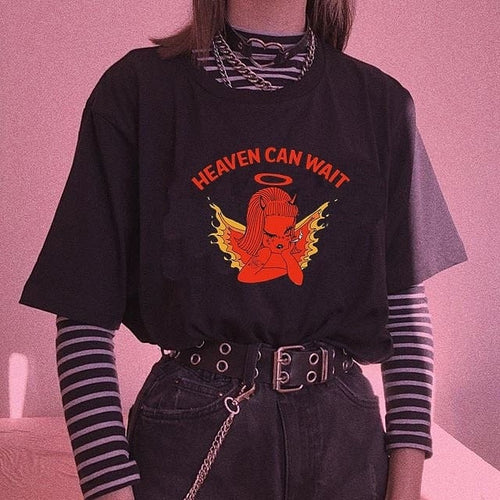 HEAVEN CAN WAIT TEE - DIFTAS - Do It For The Aesthetics