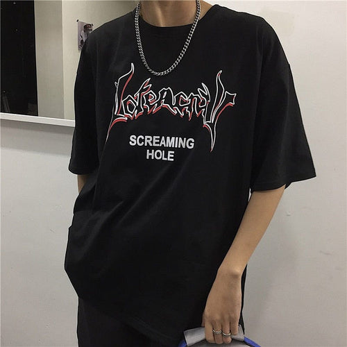 SCREAMING HOLE TEE - DIFTAS - Do It For The Aesthetics