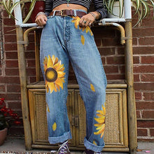 Load image into Gallery viewer, SUNFLOWER DENIM JEANS - DIFTAS - Do It For The Aesthetics