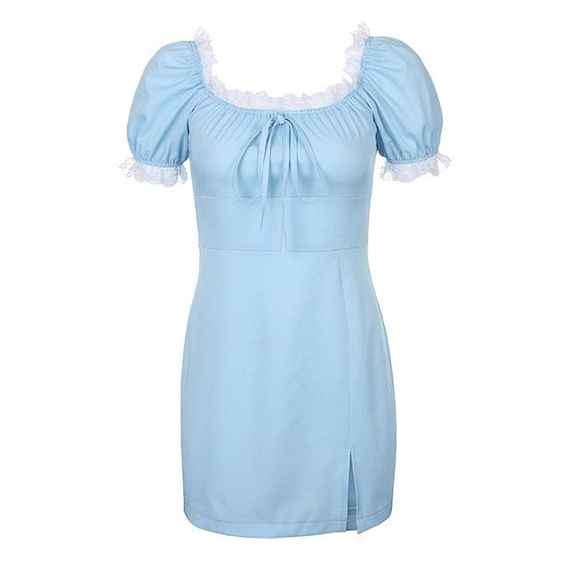 CLASSIC BLUE DRESS - DIFTAS - Do It For The Aesthetics