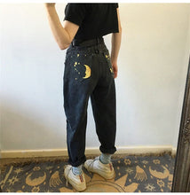 Load image into Gallery viewer, STARS DENIM JEANS - DIFTAS - Do It For The Aesthetics