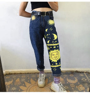 STARS DENIM JEANS - DIFTAS - Do It For The Aesthetics