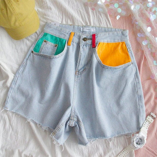 HAPPY DENIM SHORTS - DIFTAS - Do It For The Aesthetics