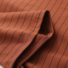 Load image into Gallery viewer, BROWN STRIPED T-SHIRT - Diftas