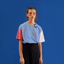 Load image into Gallery viewer, COLORFUL STRIPED T-SHIRT - DIFTAS - Do It For The Aesthetics