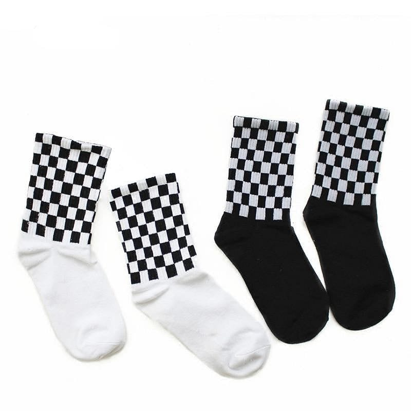 CHECKERBOARD SOCKS - DIFTAS - Do It For The Aesthetics