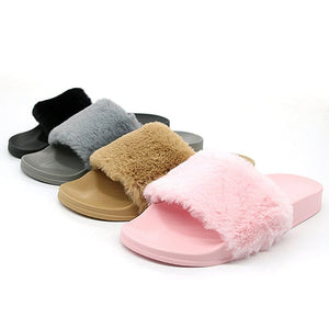 HARAJUKU FURRY SLIPPERS - DIFTAS - Do It For The Aesthetics