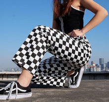 Load image into Gallery viewer, CHECKERBOARD STRAIGHT TROUSER - DIFTAS - Do It For The Aesthetics