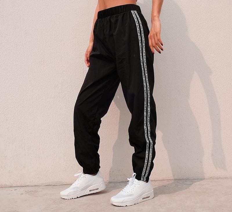 WHITE STRIPE TROUSER - DIFTAS - Do It For The Aesthetics