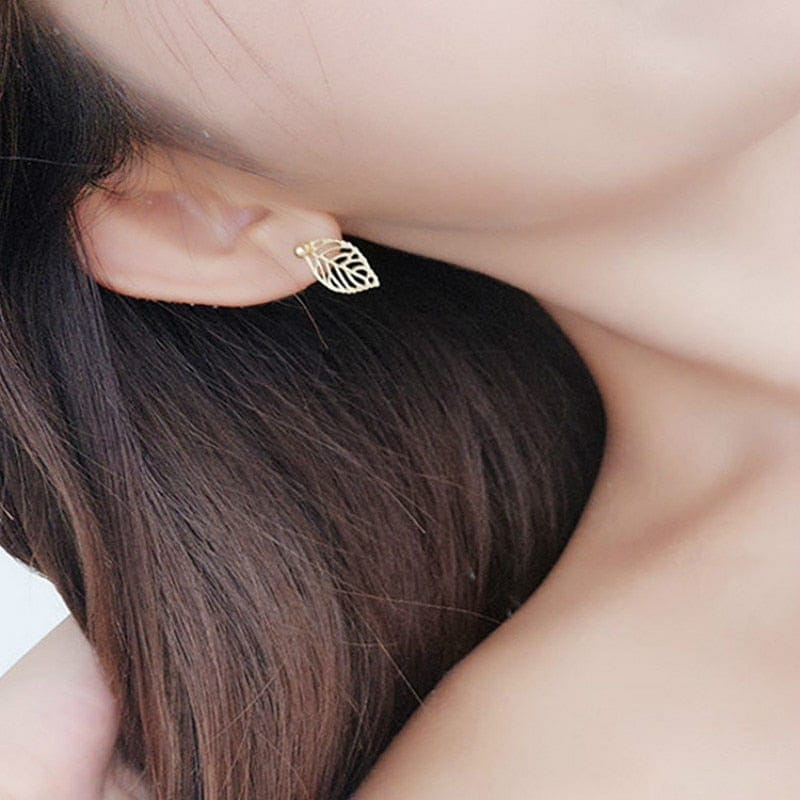 LEAF EARRINGS - DIFTAS - Do It For The Aesthetics