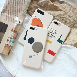 GEOMETRIC DESIGNS PHONE CASE - DIFTAS - Do It For The Aesthetics