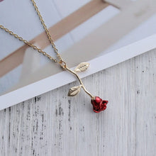 Load image into Gallery viewer, ROSE NECKLACE - DIFTAS - Do It For The Aesthetics
