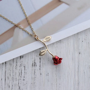 ROSE NECKLACE - DIFTAS - Do It For The Aesthetics