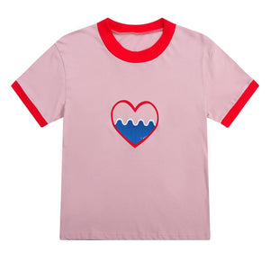 HEART T-SHIRT - DIFTAS - Do It For The Aesthetics