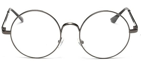 ROUND CLEAR GLASSES - DIFTAS - Do It For The Aesthetics