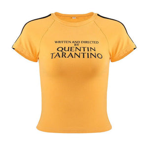 QUENTIN TARANTINO T-SHIRT - DIFTAS - Do It For The Aesthetics