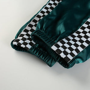GREEN CHECKERED TROUSER - DIFTAS - Do It For The Aesthetics
