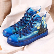 Load image into Gallery viewer, VAN GOGH STARRY NIGHT SHOES - DIFTAS - Do It For The Aesthetics