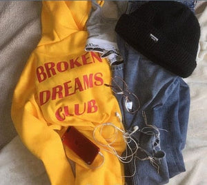BROKEN DREAMS CLUB HOODIE - Diftas