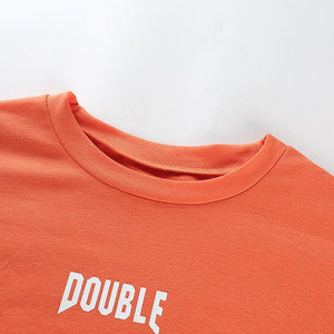 DOUBLE CROPPED FULL-SLEEVES TEE - DIFTAS - Do It For The Aesthetics