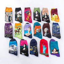Load image into Gallery viewer, VINTAGE ART SOCKS - DIFTAS - Do It For The Aesthetics