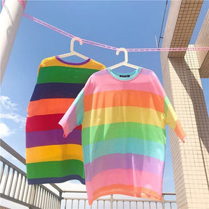 RAINBOW KAWAII T-SHIRT - Diftas