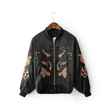 Load image into Gallery viewer, FLORAL BOMBER JACKET - DIFTAS - Do It For The Aesthetics