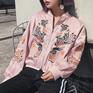 FLORAL BOMBER JACKET - DIFTAS - Do It For The Aesthetics