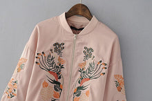 Load image into Gallery viewer, FLORAL BOMBER JACKET - Diftas