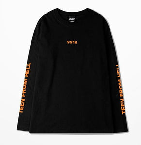 TEEN FROM HELL FULL-SLEEVES TEE - Diftas
