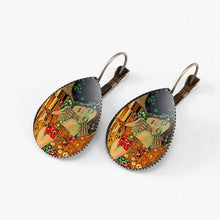 Load image into Gallery viewer, VAN GOGH ART EARRINGS - DIFTAS - Do It For The Aesthetics