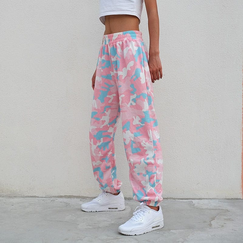 PINK CAMOUFLAGE TROUSER - DIFTAS - Do It For The Aesthetics