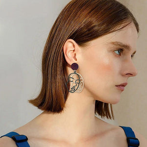 DOUBLE FACE EARRINGS - DIFTAS - Do It For The Aesthetics