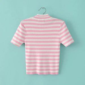UNIF STRIPED T-SHIRT - DIFTAS - Do It For The Aesthetics