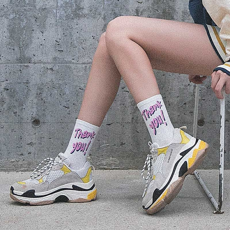 CASUAL SLANG SOCKS - DIFTAS - Do It For The Aesthetics