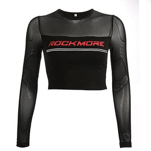 ROCK MORE NETTED CROP TOP - DIFTAS - Do It For The Aesthetics