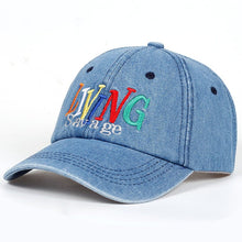 Load image into Gallery viewer, LIVING SAVAGE DENIM CAP - Diftas