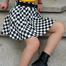 Load image into Gallery viewer, CHECKERBOARD SKIRT - DIFTAS - Do It For The Aesthetics