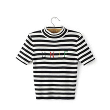 Load image into Gallery viewer, UNIF STRIPED T-SHIRT - DIFTAS - Do It For The Aesthetics
