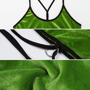 GREEN TANK TOP - Diftas