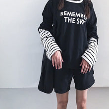 Load image into Gallery viewer, REMEMBER THE SKY FULL-SLEEVES TEE - DIFTAS - Do It For The Aesthetics