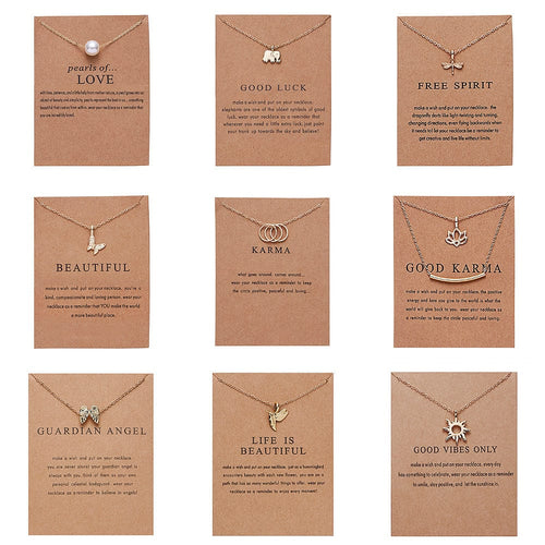 WISH NECKLACES(12+ wishes) - DIFTAS - Do It For The Aesthetics