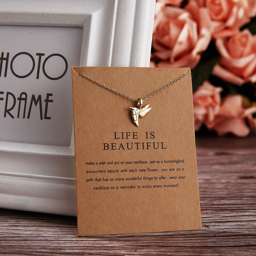 LIFE IS BEAUTIFUL NECKLACE - DIFTAS - Do It For The Aesthetics