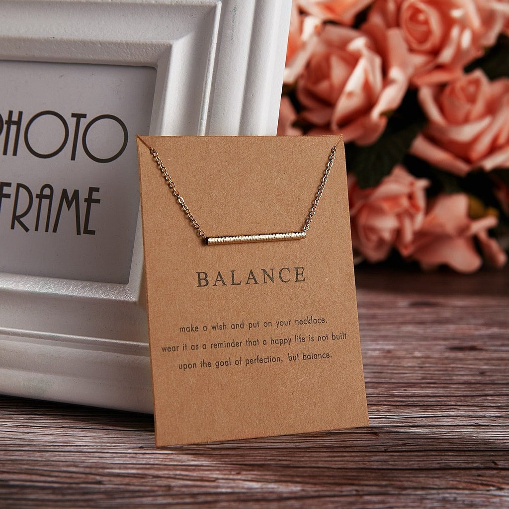 BALANCE NECKLACES - DIFTAS - Do It For The Aesthetics