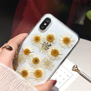 FLOWERS PHONE CASE (3 designs) - DIFTAS - Do It For The Aesthetics