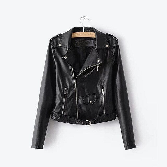 FAUX LEATHER JACKET - DIFTAS - Do It For The Aesthetics
