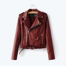 Load image into Gallery viewer, FAUX LEATHER JACKET - DIFTAS - Do It For The Aesthetics