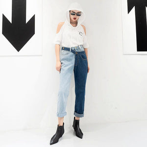 DOUBLE DENIM JEANS - DIFTAS - Do It For The Aesthetics